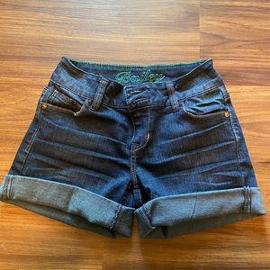 dELiA*s | Bailey fit dark wash denim short